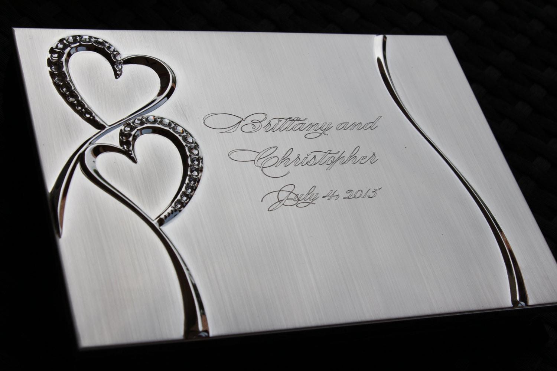 Wedding Photo Gift: Personalized Wedding Photo Album Book Custom Wedding Album