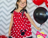 Minnie Mouse inspired pillow case dress 18 months