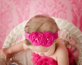 Jersey Knit Headband.Jersey Knit Baby Headband.Jersey Knit Infant Headband.Infant Headbands.Baby Girl Headband.Baby Girl Knit Headband