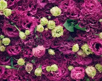 Flower Market Series - Mixed Bag - Photographic print - bohemian, Asia, Korea, Whimsical, Wall, Art, Dreamy, Decor, Nursery, boho, Baby