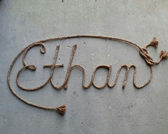 5 LETTER Name Western Rope Name Art