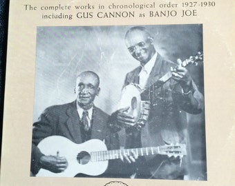Cannon's jug stompers the complete works in chronological order 1927 to 1930