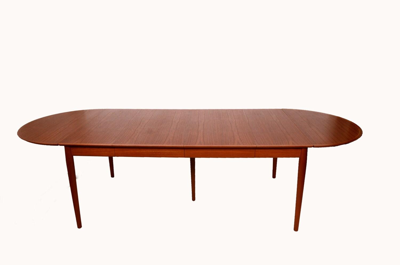 Arne Vodder Drop Leaf Sibast Teak Dining Table W By HearthsideHome
