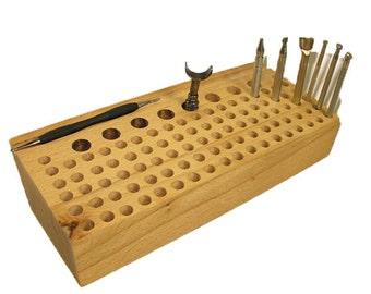 Hardwood Tool Rack Large 32401-01 leathercrafting stamping