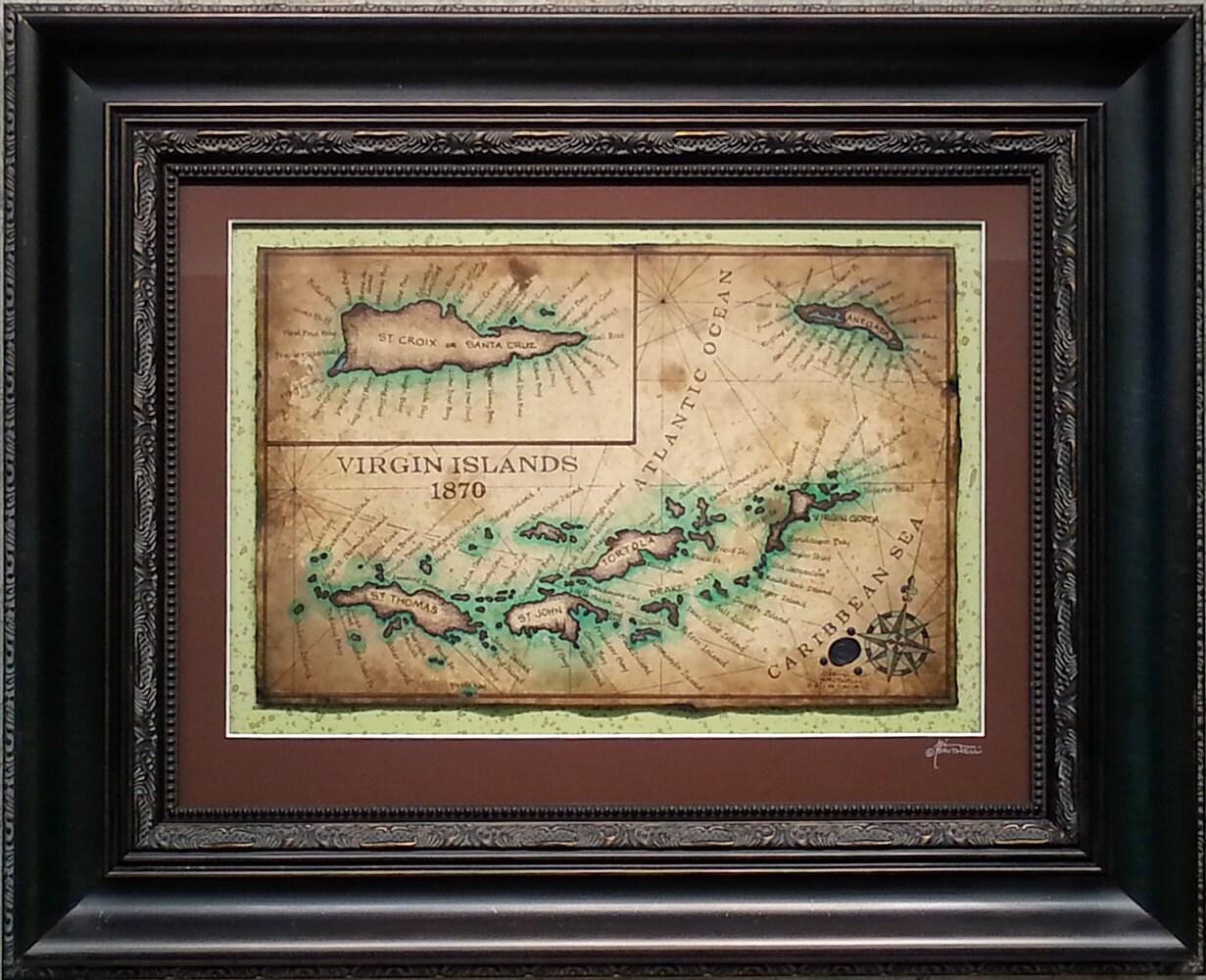 St thomas map – Map of Caribbean Islands St Thomas