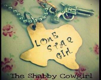 Lone Star Girl necklace