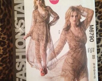 McCalls 6790 FashionStar Dress Pattern