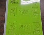 """Pattern Book - Glass Mosaic Patterns - """"Garden Bricks: Volume 1""""  - Garden Brick Designs"""