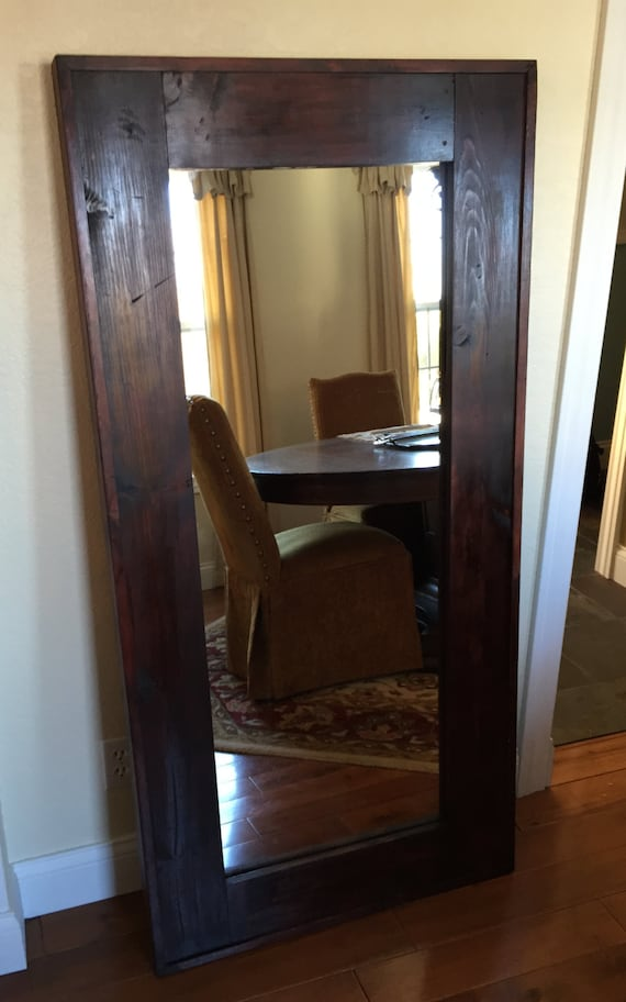 Items Similar To The Quot Mountain Lodge Quot Leaner Mirror