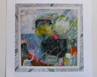 Fine Art Giclee print on paper