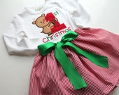 Baby Girl First Christmas Outfit