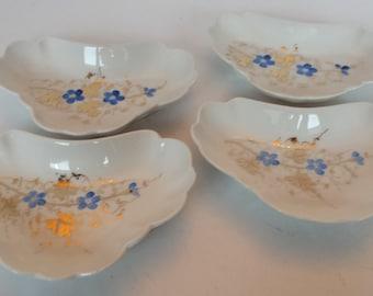 China Bone Dishes - Set of 4