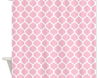 Light pink lattice etsy for Decoration quadrilobe