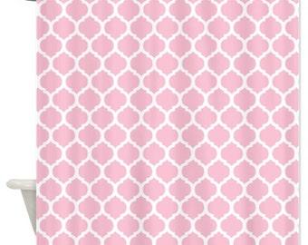 Decoration Quadrilobe Of Light Pink Lattice Etsy