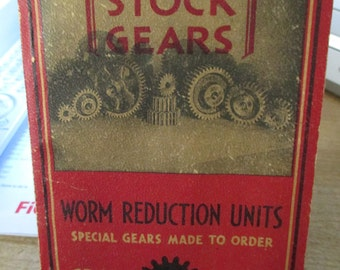 1945 Catalog of Grant Gear Works of Boston Mass.  Established 1877