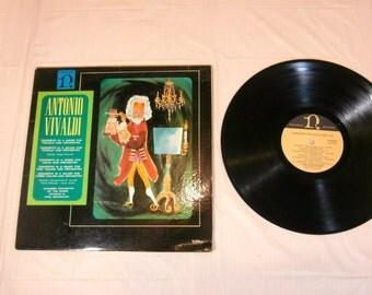 ANTONIO VIVALDI (1680-1743) Vinyl LP record Album - H-1022
