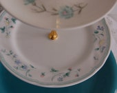 Felicity Tea Stand/cupcake Tray/cake stand, Aqua, mis-matched, Ready to Party!, Wedding/Receptions/Showers(H203)(