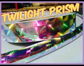 "1"" Twilight Prism Reflective Hula Hoop Tape"