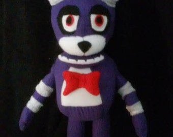 Custom Made Five Nights at Freddy's Plush  Bonnie The Rabbit   Plushie Plush