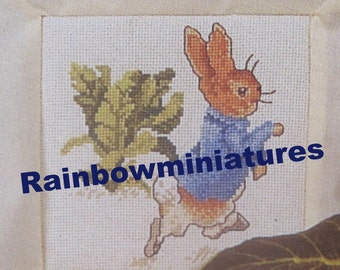 cross stitch beatrix potter  peter rabbit  CHART INSTRUCTIONS ONLY lakeland artist new