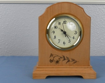 Arch Clock Etsy