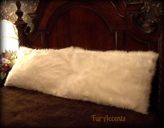 Fur Accents One Pair Of Pillow Shams Off White By Furaccents