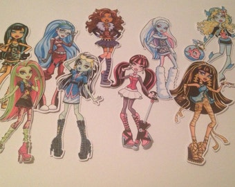 Monster High Die Cuts