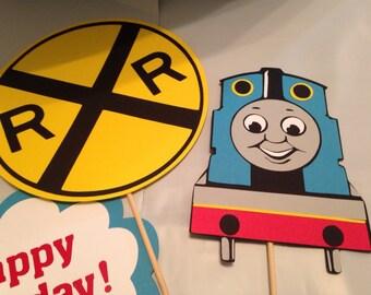 Thomas the Train 4pc centerpiece, Thomas the Train party