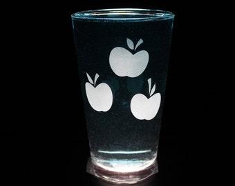 Applejack Cutie Mark - Pint Glass