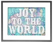 """Joy to the World - INSTANT DOWNLOAD - 8""""x10"""" Printable Art"""
