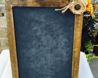 2 Rustic Shabby Chic Wood Frame Chalk Board-Chalk Board-Photo Prop-Wedding Decor-Rustic Wedding-Display Chalk Board