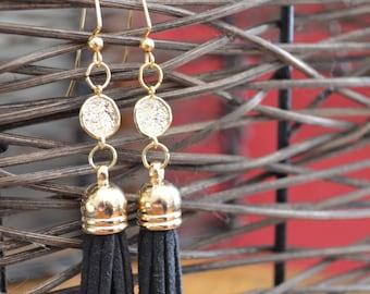 SALE Eclipse Tassel Earrings (Gold)
