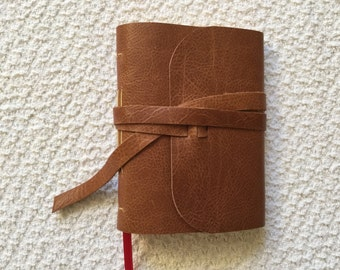 Inspire Leather Handsewn Journal in Top Grain Cowhide Leather Diary