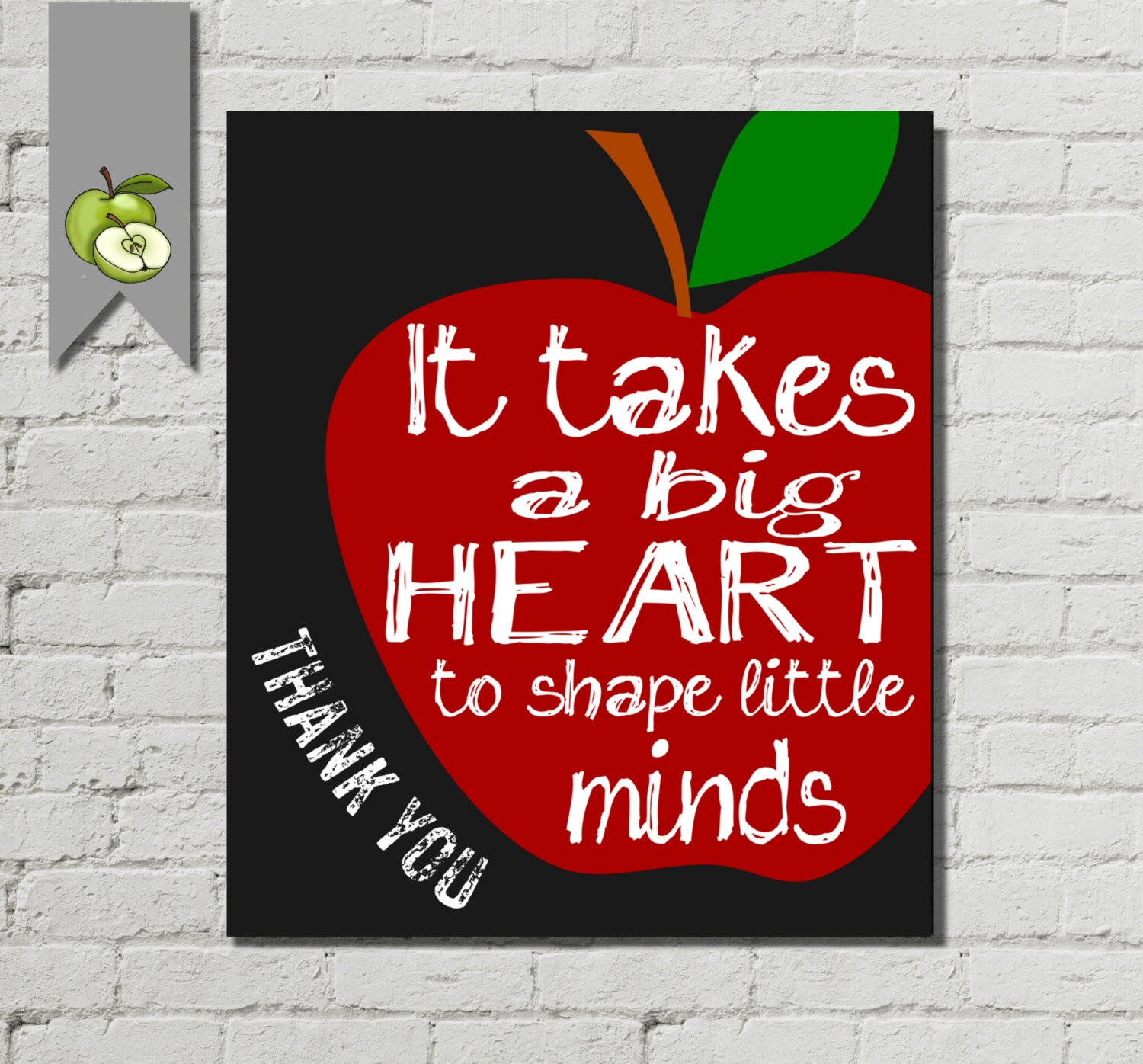 photograph regarding It Takes a Big Heart to Shape Little Minds Printable identified as Prompt It Normally takes A Huge Towards Form Minds -