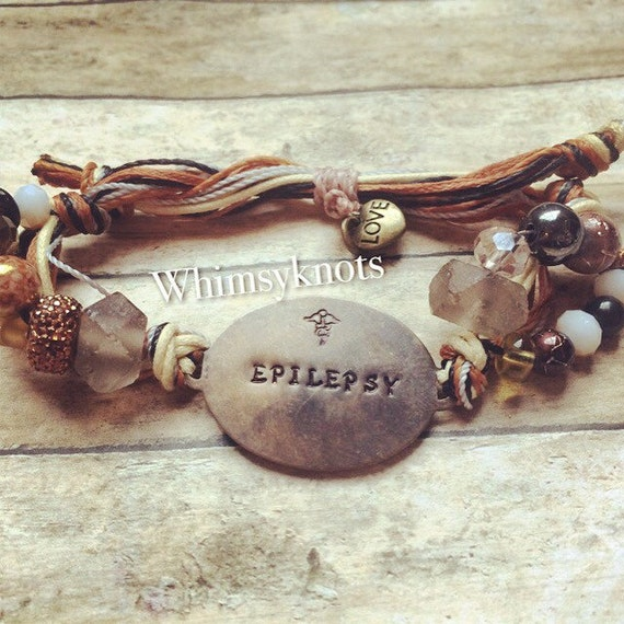 Id -Medical bracelet /Jewelry/ Medical Bracelet-fashionably fun and important-Personalized, Hand-Stamped Jewelry