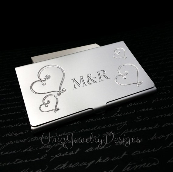 Personalized Business Card Holder For Women by