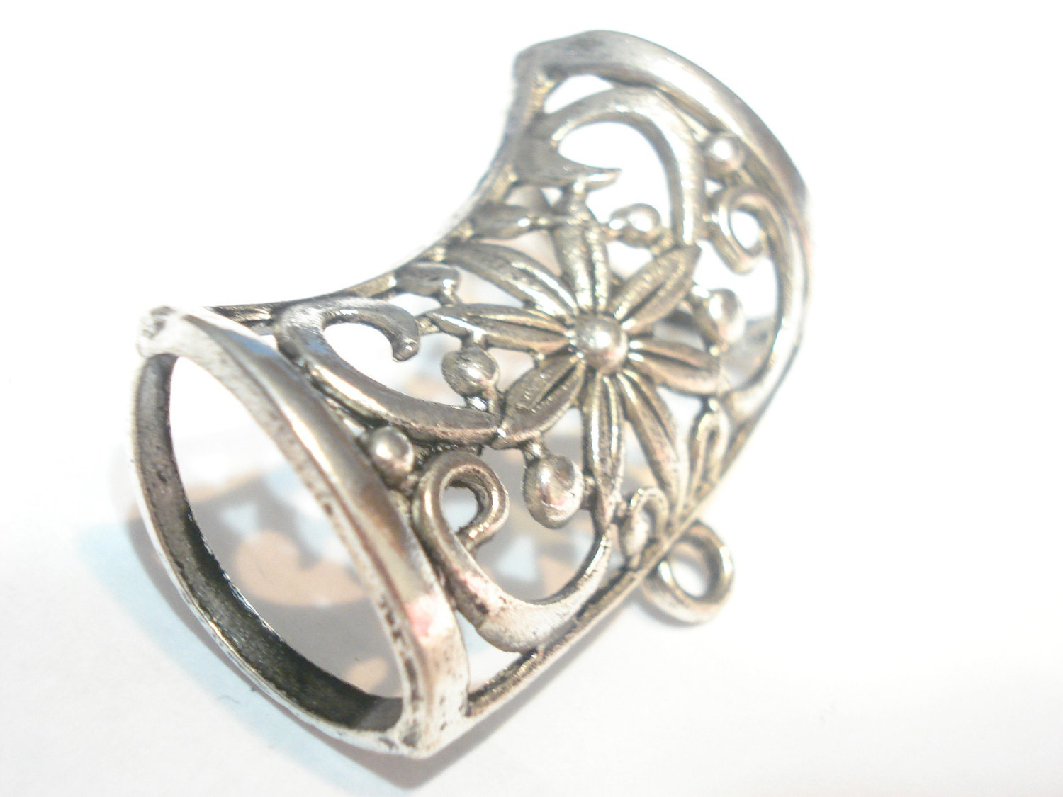 fashion scarf jewelry metal scarf slides bails for