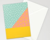 Peach Pit Stationery Card Set