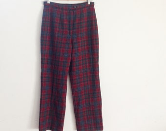 Pendleton high waisted high waisted wool trousers
