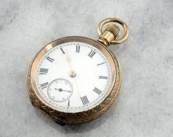 Antique Waltham Pocket Watch DAE26C