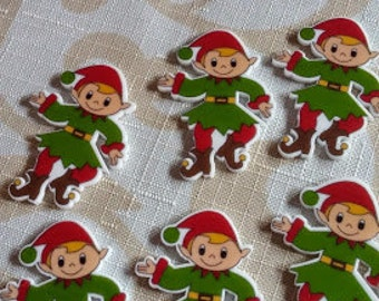 Elf bow centers- elf resins- Crafting centers- embelishments-