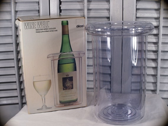 Wine well iceless wine cooler by decor all by for Decor wine cooler