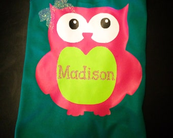 Personalized Owl Tee