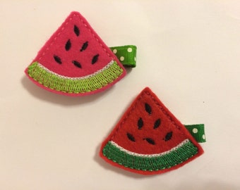 Sweet Watermelon Clippies