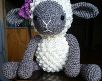 Crochet Stuffed Lamb