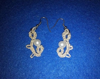 Country Twine and Bead earrings
