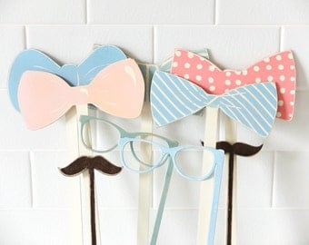 Photobooth prop on a stick, wooden. Mustache, Lips, Wedding Photo Booth, Props on a Stick