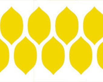 Lemonesque Border Stencil