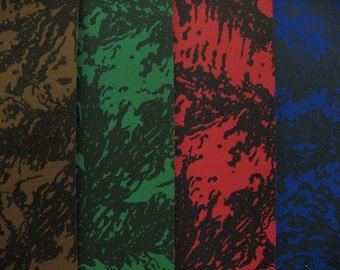 Italian traditional binding paper assorted color vintage paper italian paper