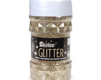 Gold Glitter, 76 grams, 4 oz.